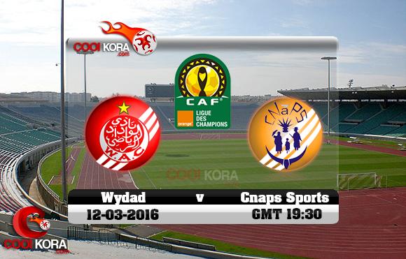 مشاهدة مباراة الوداد وكنابس اليوم 12-3-2016 في دوري أبطال أفريقيا