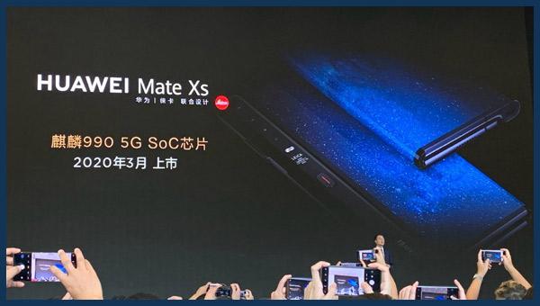 تسريبات مواصفات هاتف Huawei Mate Xs بشاشة قابلة للطي | أرخص من Mate X