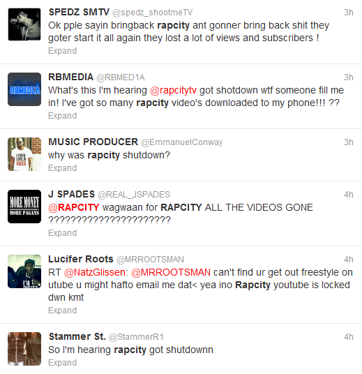THE GRIME REPORT: Rap City Tv Channel Terminated by YouTube