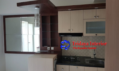 jasa-kitchen-set-apartemen-podomoro-golf-view