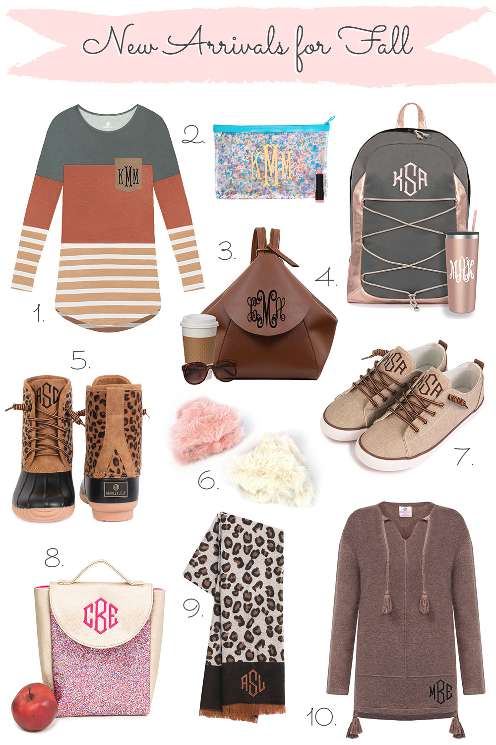 marleylilly new monograms for fall