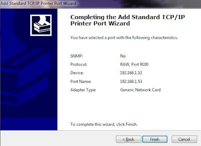 cách cài đặt máy in canon lbp 6030 bằng địa chỉ IP