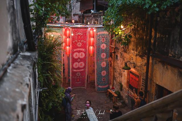 Kwai Chai Hong 鬼仔巷 Everlasting Beauty 万寿无疆 | 2021 CNY Decoration
