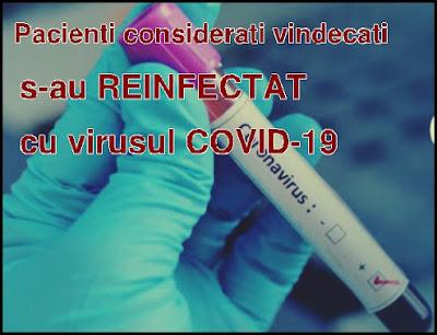 alerta medicala pacienti infectati a doua oara cu virusul din china