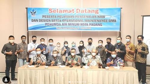 Buka Pelatihan Pengenalan NRW dan Maintenance DMA, Ini Pesan Dirut PDAM Kota Padang