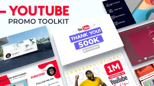 Videohive - YouTube Promo Toolkit 28613997