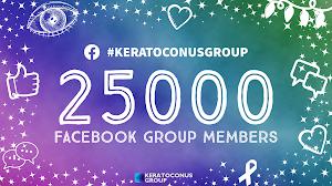 25,000 Facebook Group Members