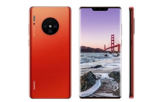 Toutes les caractérisitiques et photos du Huawei Mate 30 Pro