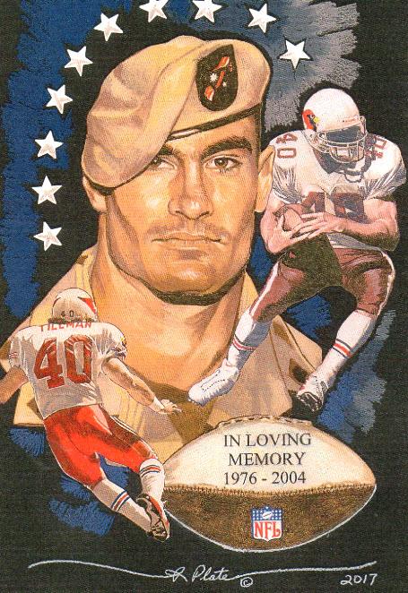 5ac074fe Pro Football Journal: Memorial Day—Pat Tillman
