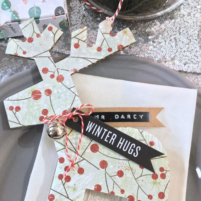 selfpackaging segnaposto natalizi