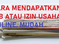 CARA MUDAH MENDAPATKAN NOMOR INDUK IZIN BERUSAHA ( NIB ) ONLINE