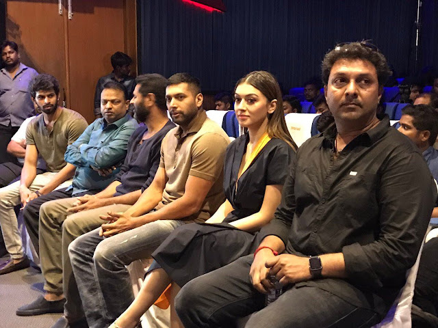 Hansika at Bogan Tamil Movie Press Meet