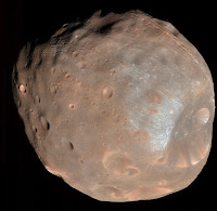 Moons of Mars: Phobos