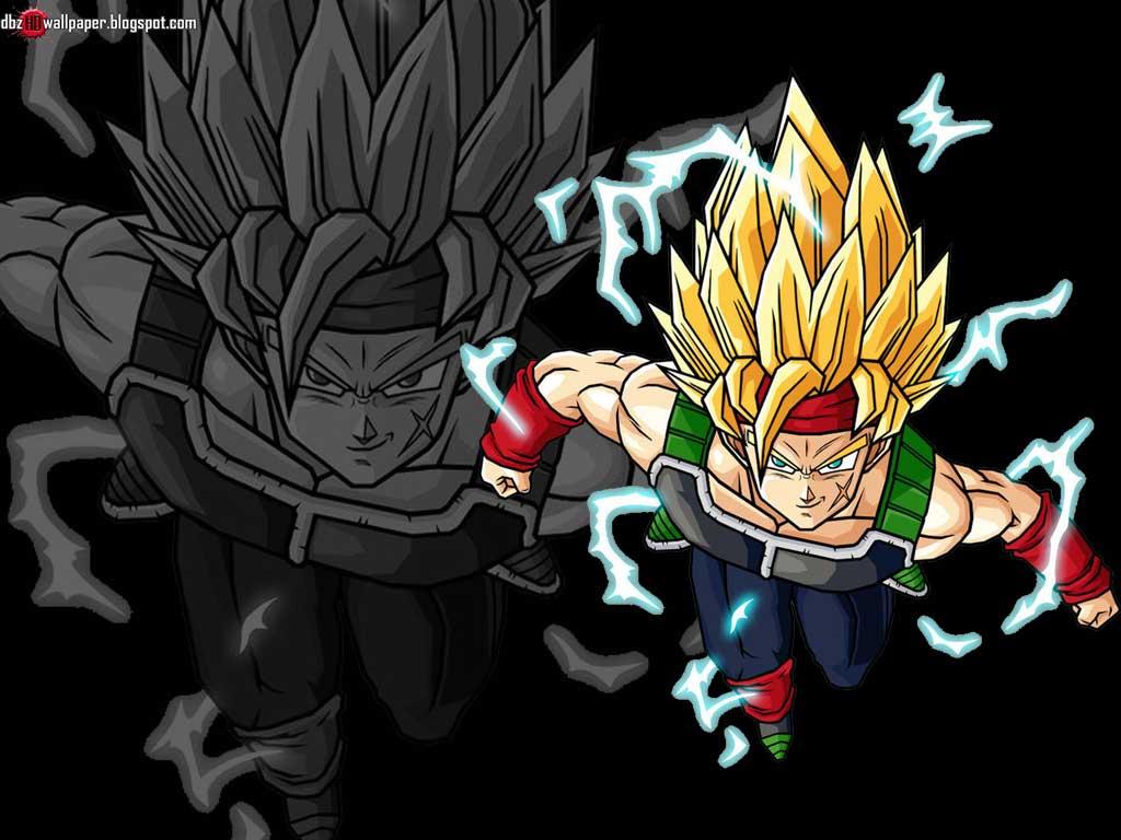 Goku Fase 10 Para Colorear: Bardock : Super Saiyan 2 #001