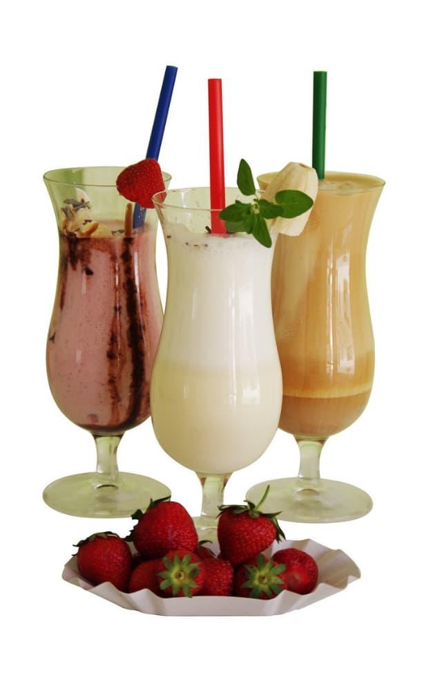 receita de frapê com frutas variadas