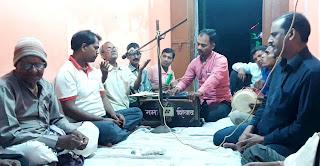 भजन कीर्तन के साथ मना शिव मंदिर का 38वां वार्षिकोत्सव | #NayaSaberaNetwork
