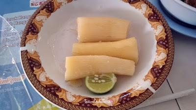 cara makan kaledo