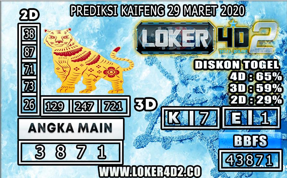 PREDIKSI TOGEL KAIFENG LOKER4D2 29 MARET 2020