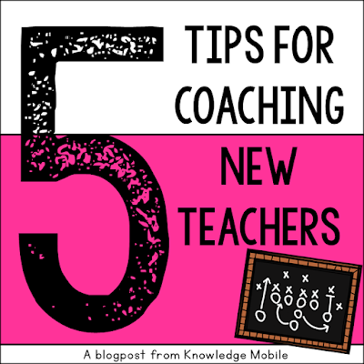 Practical tips for helping new teachers organize and get ready for classroom instruction