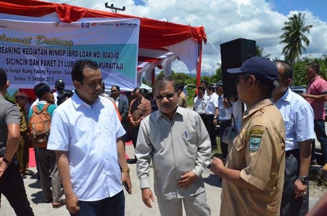 Bupati Ali Mukhni Minta Percepatan Konsolidasi Tanah Erpach 697 Hektar, Untuk Kawasan Terpadu Pendidikan