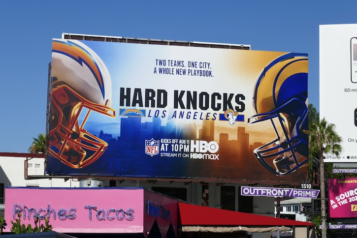 Hard Knocks Los Angeles billboard