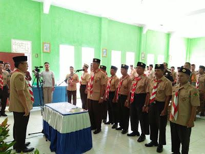 Zaiful Bokhari Lantik Pengurus Majelis Pembimbing dan Pimpinan Komunitas Cabang Sekawan Persada Nusantara Gerakan Pramuka Lampung Timur