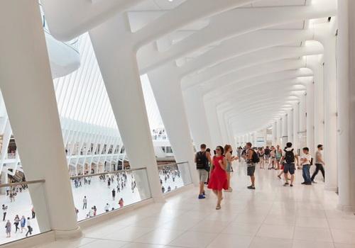 www.Tinuku.com Oculus World Trade Center Desain Santiago Calatrava Difoto Hufton + Crow
