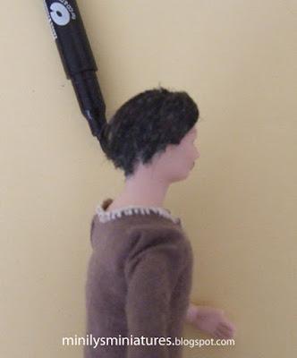 """minilys miniatures"" ""cambio look"" ""rotulador"" 1:12 tinte cabello"