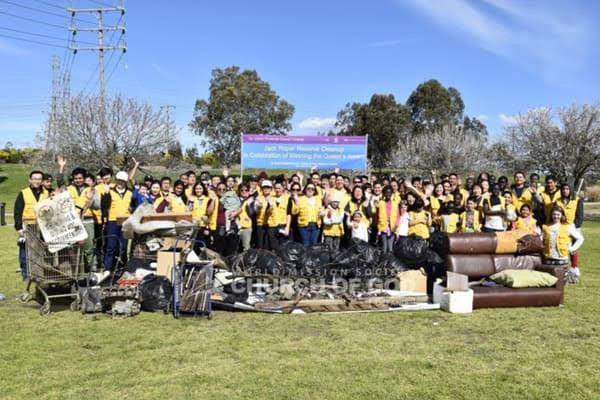 Spring welcoming cleanup was held at Jack Roper Reserve, VIC