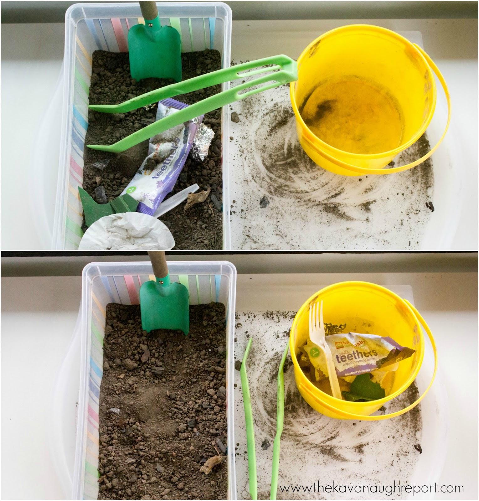 Montessori Inspired Pollution Work For Preschool