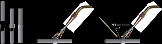 cara menyambung pipa tembaga AC kulkas