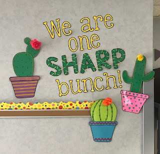 We Are One Sharp Bunch Display