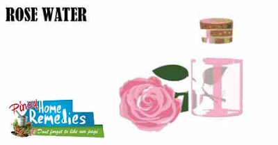 Home Remedies For Dark Circle: Rosewater