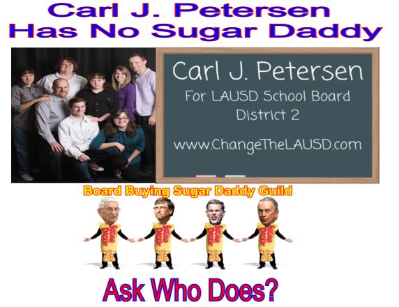Image result for CARL PETERSEN FOR LAUSD BOARD DISTRICT 2