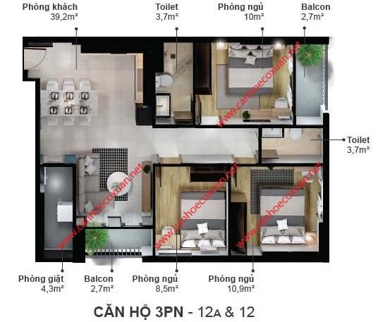 can-ho-3-phong-ngu-85.7m2-eco-xuan-skyresidences-binh-duong-block-a-12-12a