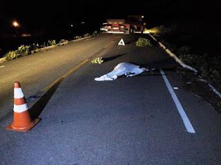 Homem que seria de Picuí morre após ser atropelado por motocicleta na PB 177