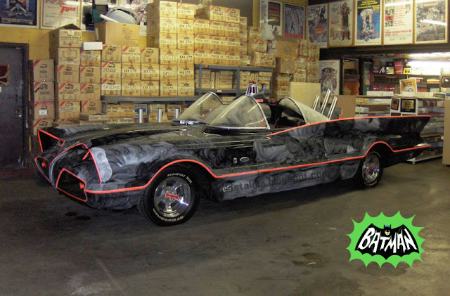 Batman Batmobile 1966 TV Show George Barris Garage