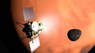 Missão MMX do Japão colherá uma amostra da lua marciana Phobos