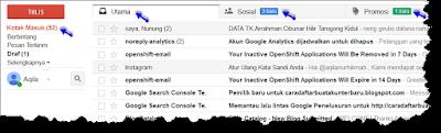 Cara Membaca email masuk gmail