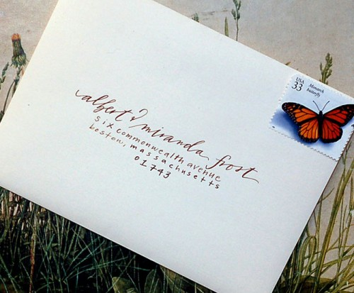 How To Write On Envelope For Wedding Invitations: The Special Event: Wedding Envelopes