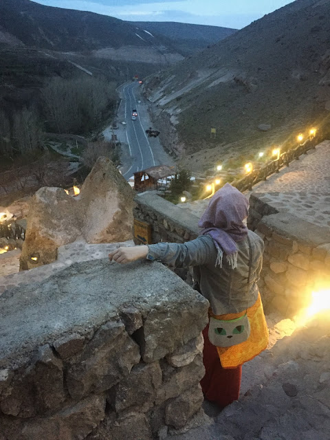 View from Kandovan Laleh International Rocky Hotel, Iran