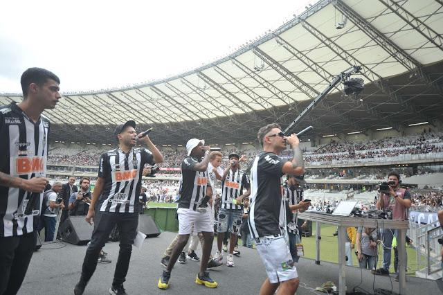 Contra o Vento - Atlético MG Reúne Nomes do Rap Mineiro em Comemoração aos 111 anos