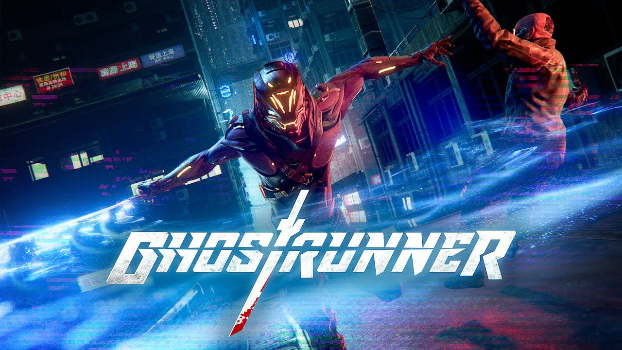 Ghostrunner - 5 minutes 20 fps gameplay on Switch