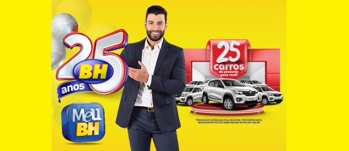 Participar Aniversário 25 Anos BH Supermercados