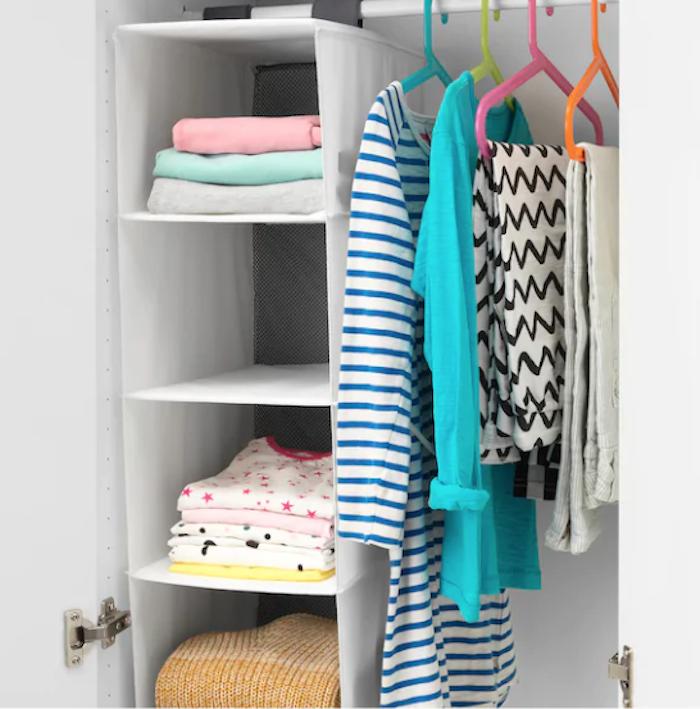 Organizador col velcro para armarios de IKEA