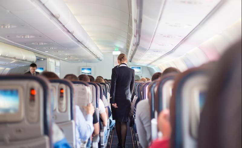 healthy flying tips, straight from flight attendants