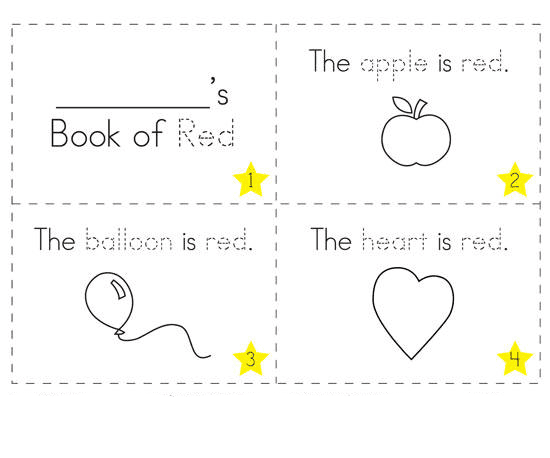 Gambar Mewarnai Booklet Untuk Anak - 6
