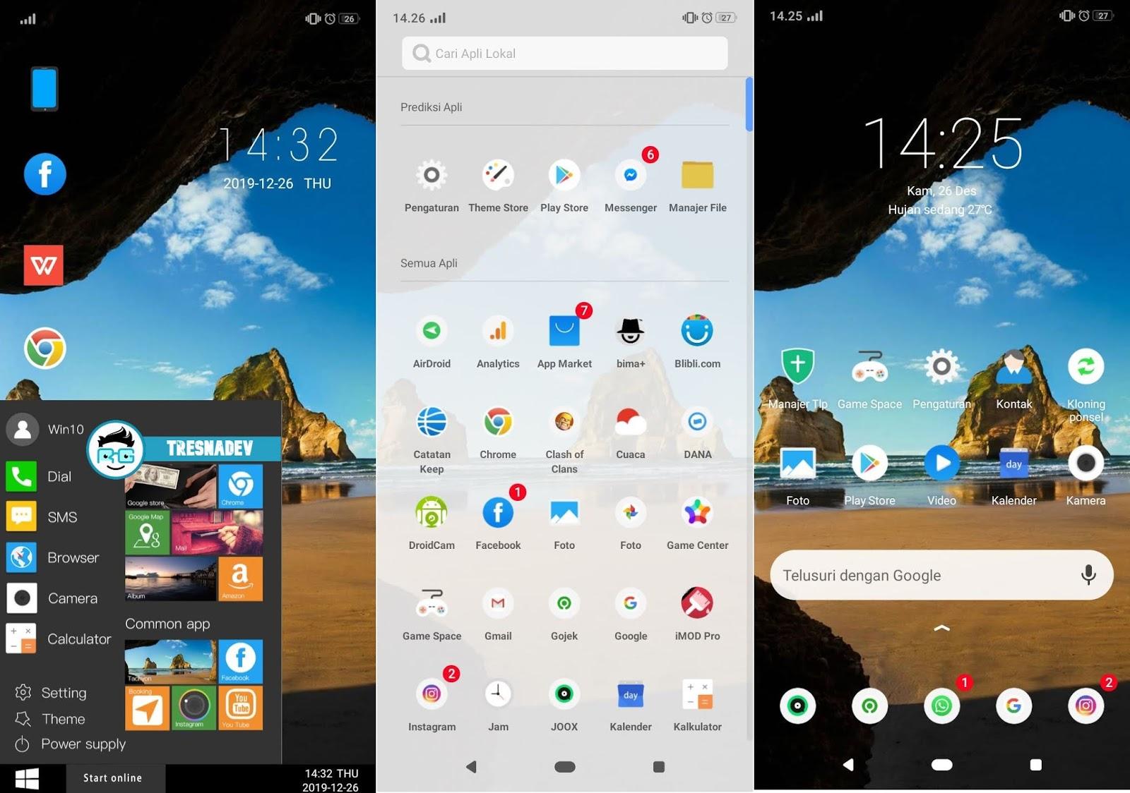 Themes Windows 10 UI Premium for OPPO & Realme