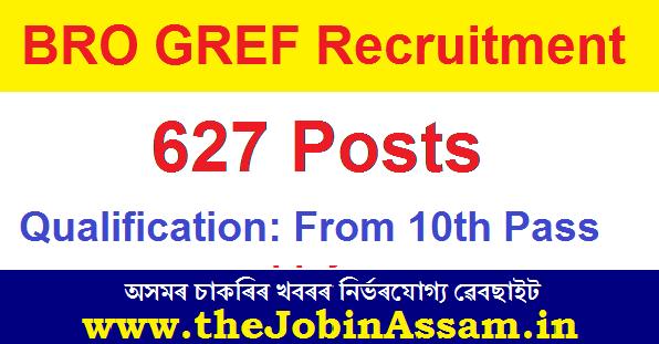 BRO GREF Recruitment 2021: