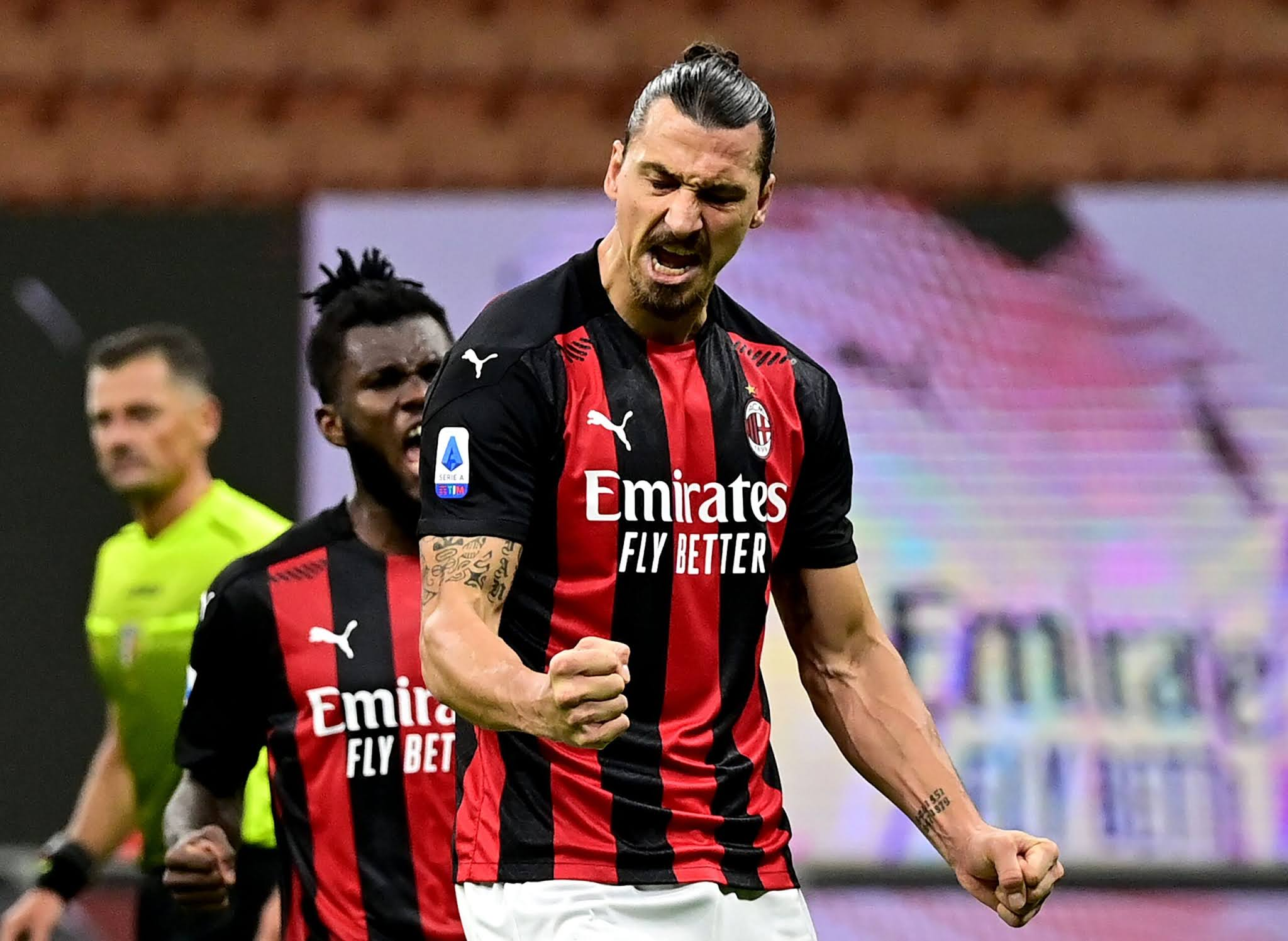AC Milan's Zlatan Ibrahimovic is in fine form for Rossoneri the
